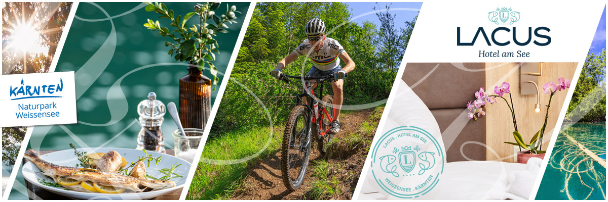 LACUS - Mountainbike-Hotel Herbsturlaub Weissensee Kärnten
