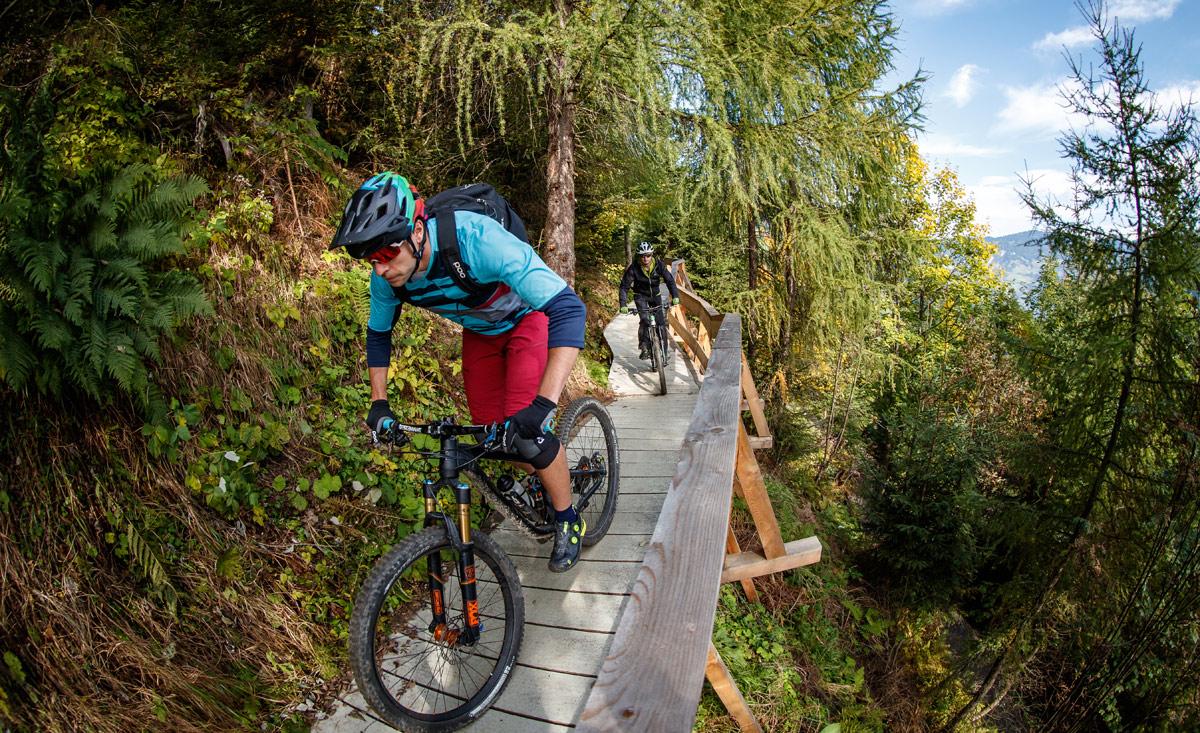 Mountainbike singletrails salzburg